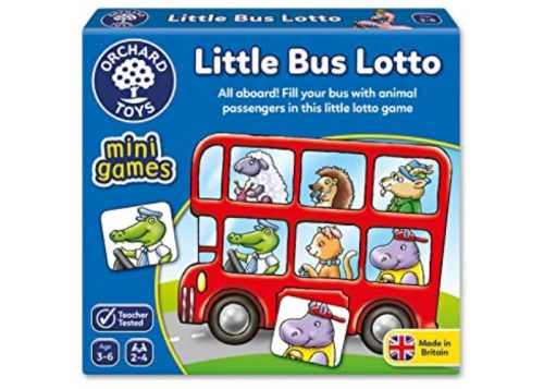 Orchard Toys Mini Games Little Bus Lotto