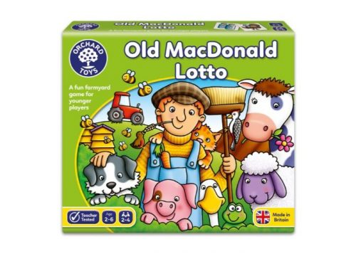 Orchard Toys Old Macdonald Lotto Fun Learning Game