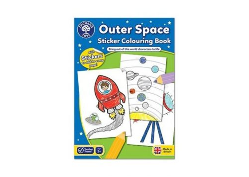 Orchard Toys Outer Space Sticker Colouring Book