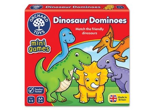 Orchard Toys Mini Games Dinosaur Dominoes