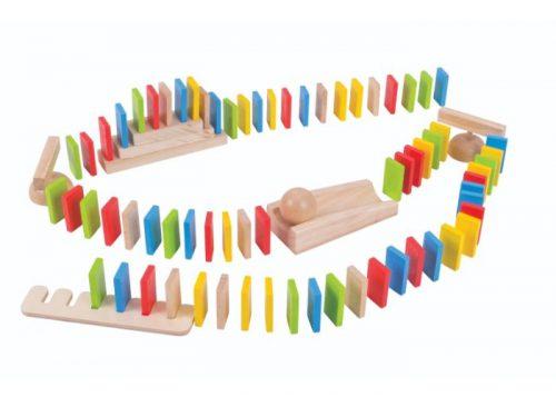 Bigjigs Toys Wooden Domino Run