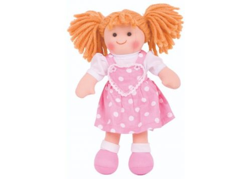 Bigjigs Toys Ruby 28cm Soft Doll