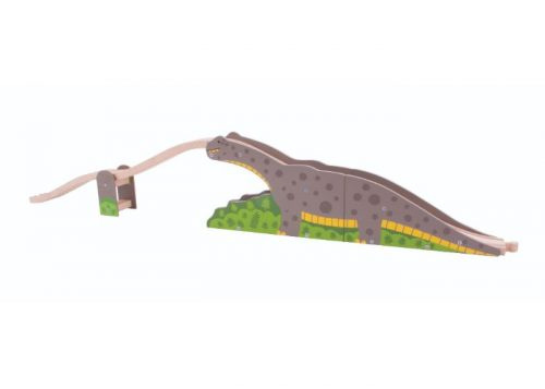 Bigjigs Rail Wooden Bronto Riser Bridge