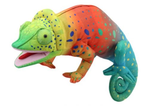Chameleon Large Creature Hand Puppet