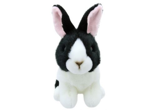 Wilberry Mini's Black & White Dutch Rabbit Soft Toy