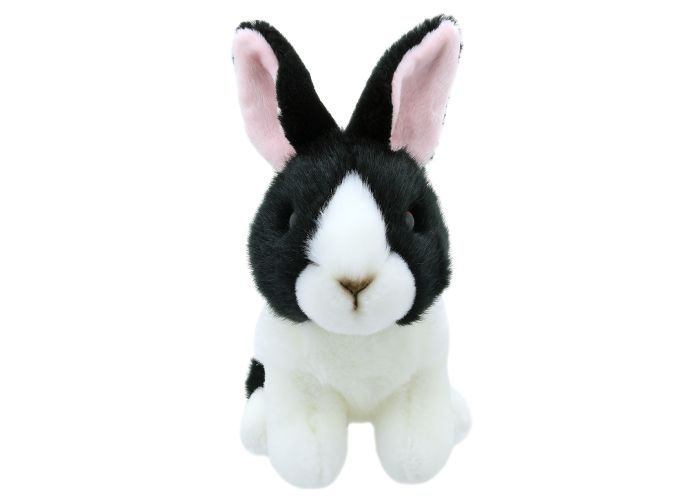 Wilberry Mini's Black & White Dutch Rabbit Soft Toy