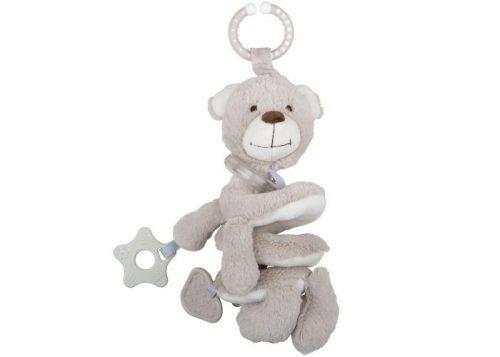 Bigjigs Baby Buddy Bear Spiral Rattle