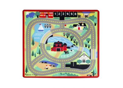 Melissa & Doug Around the Town Road Rug & Cars