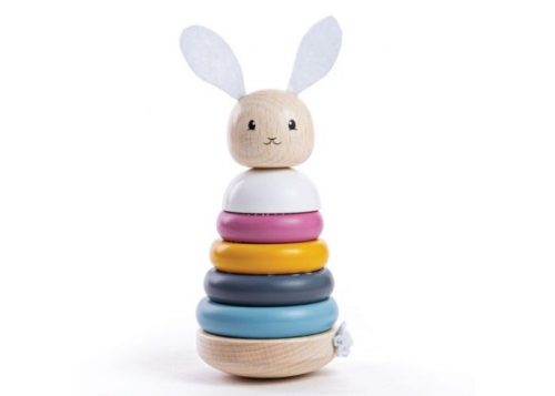 Bigjigs Toys 100% FSC® Certified Rabbit Stacking Ring