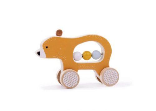 Bigjigs Toys Push Along Bear