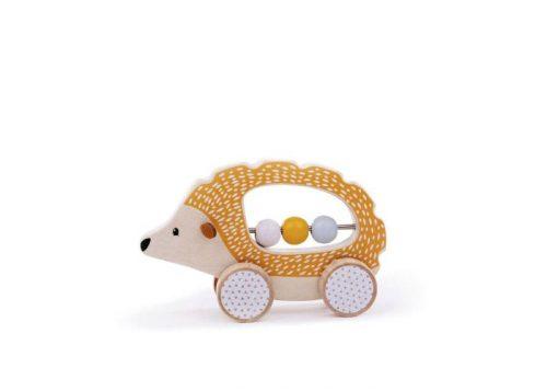 Bigjigs Toys Push Along Hedgehog