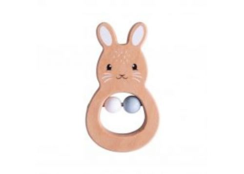 Bigjigs Toys 100% FSC® Certified Rabbit Rattle