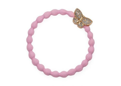 byEloise Bangle Band Butterfly Soft Pink