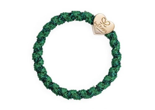 byEloise Bangle Band Woven Gold Heart Chive