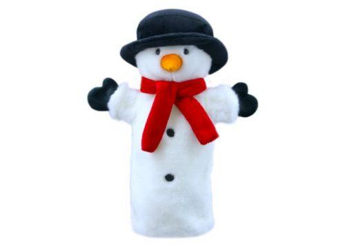 Snowman Long-Sleeved Glove Puppet