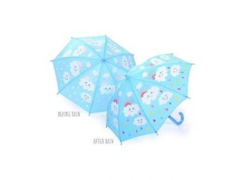 Floss & Rock Colour Changing Umbrella Raindrops & Clouds