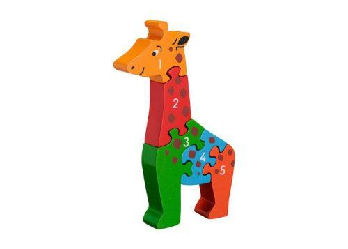 Lanka Kade Fair Trade Giraffe 1-5 Puzzle