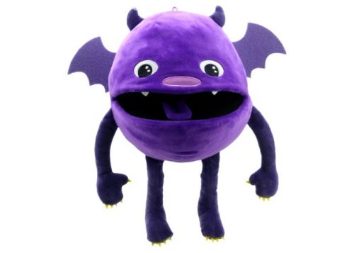 Purple Baby Monster Hand Puppet