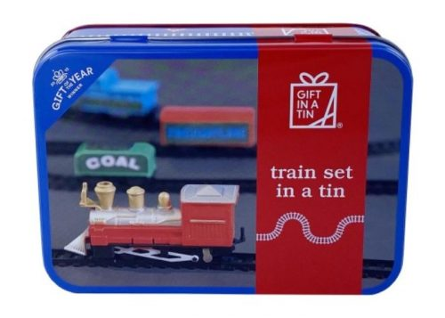 Apples to Pears Gift in a Tin Train Set