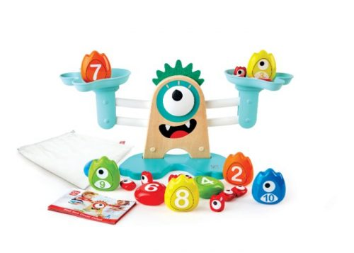 Hape Wooden Monster Maths Scale