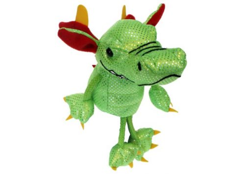 Green Dragon Finger Puppet by The Puppet Company