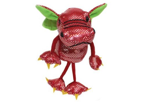 Red Dragon Finger Puppet by The Puppet Company