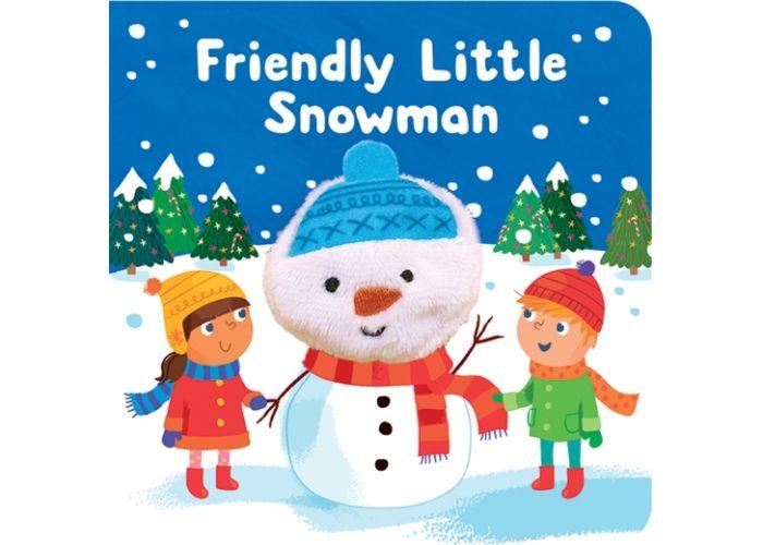 Friendly Little Snowman Finger Puppet Board Book
