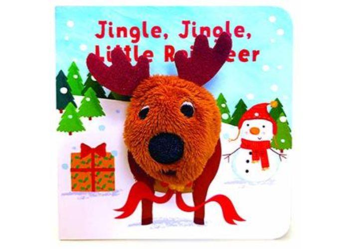 Jingle Jingle Little Reindeer Finger Puppet Board Book