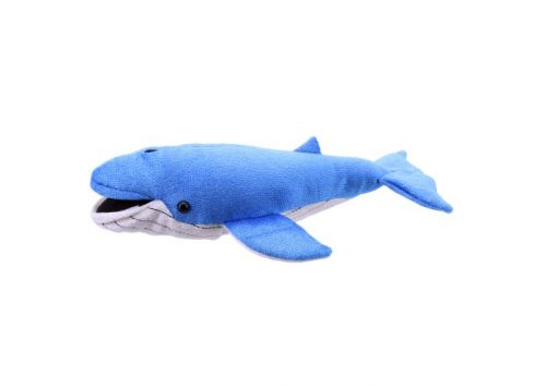 Blue Whale Finger Puppet by The Puppet Company
