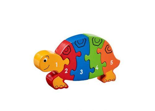 Lanka Kade Fair Trade Tortoise 1-5 Puzzle