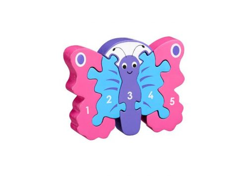 Lanka Kade Fair Trade Butterfly 1-5 Puzzle