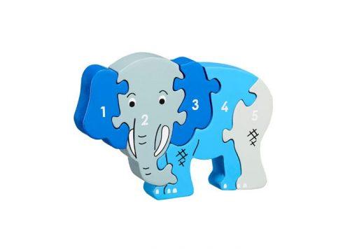 Lanka Kade Fair Trade Elephant 1-5 Puzzle