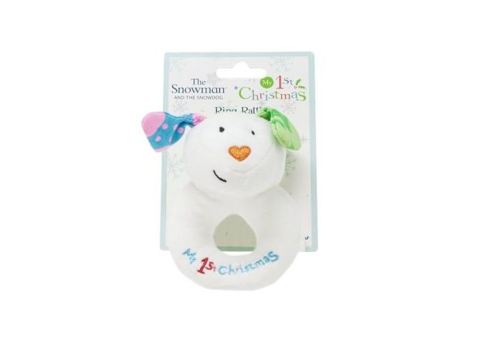 The Snowman and The Snowdog Ring Rattle