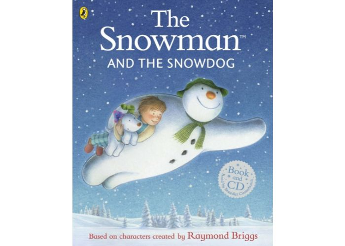 The Snowman and The Snowdog Book and CD