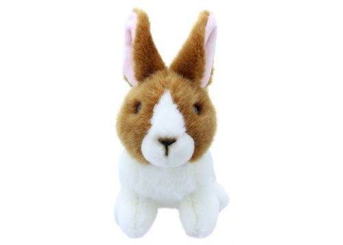 Wilberry Mini's Brown & White Rabbit