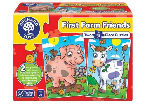 Orchard Toys First Farm Friends Jigsaw Puzzles
