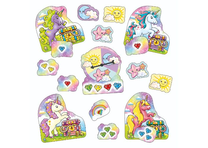 Orchard Toys Unicorn Jewels Mini Game