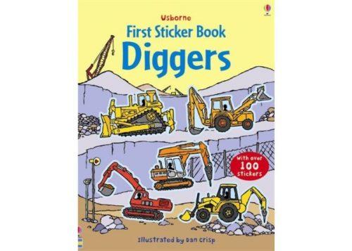 Usborne First Sticker Book Diggers