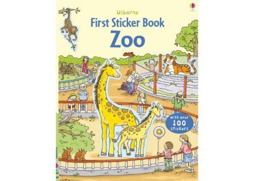 Usborne First Sticker Book Zoo