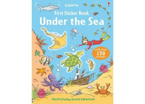 Usborne First Sticker Book Under the Sea