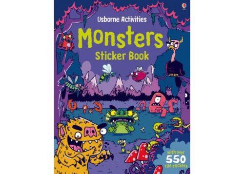 Usborne Activities Monsters Sticker Book
