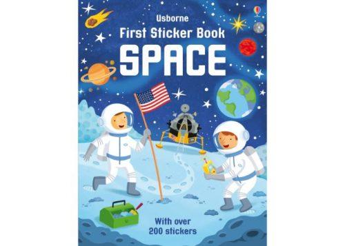 Usborne First Sticker Book Space