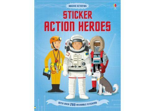 Usborne Activities Sticker Action Heroes