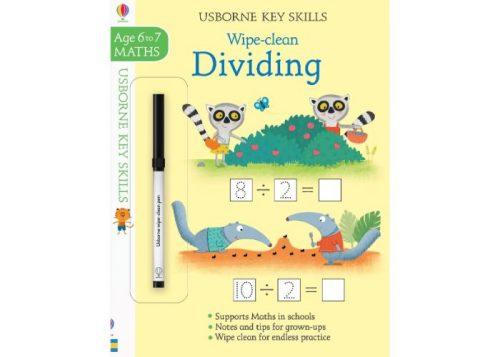 Usborne Key Skills Wipe-Clean Dividing 6-7 years