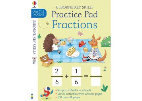 Usborne Key Skills Practice Pad Fractions 7-8 years