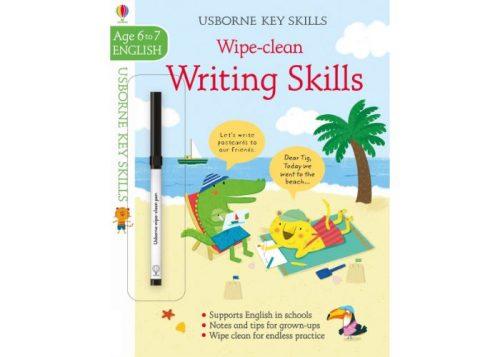 Usborne Key Skills Wipe-Clean Writing Skills 6-7 years