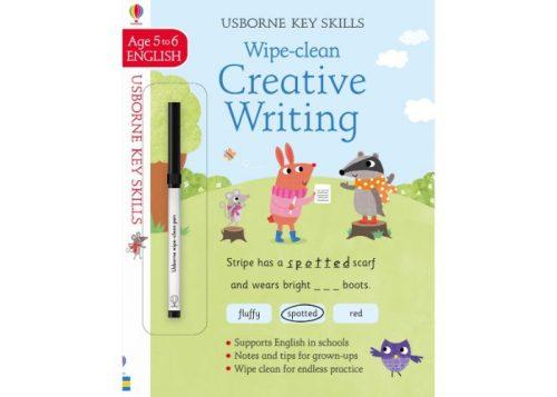Usborne Key Skills Wipe-Clean Creative Writing 5-6 years