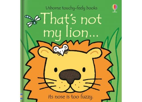Usborne That's Not My Lion Board Book