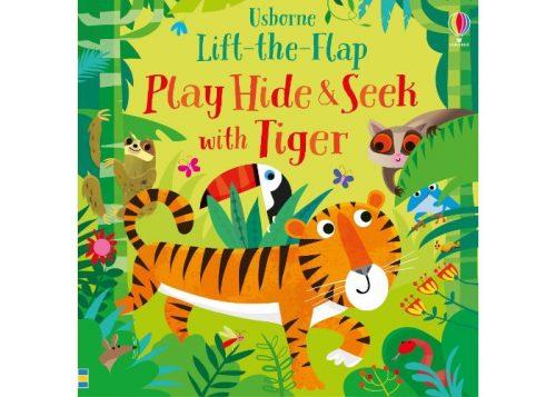 Usborne Play Hide & Seek with Tiger Book