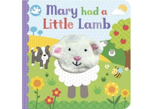Mary Had a Little Lamb Finger Puppet Board Book